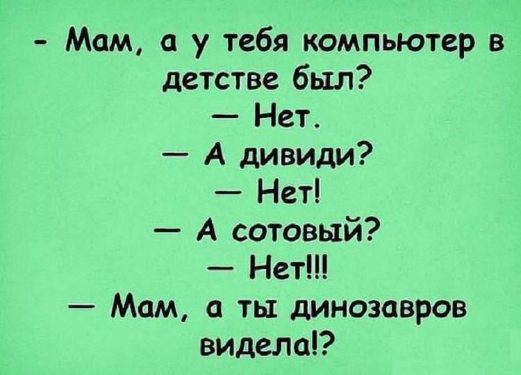 Анекдот про домохозяйку