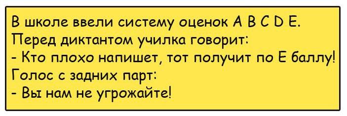 Анекдот про учителя и муху